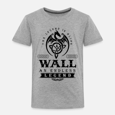 Wall WALL - Toddler Premium T-Shirt