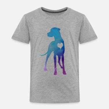 Great Dane Watercolor - Toddler Premium T-Shirt