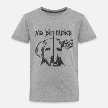 Be Different NO DIFFERENT - Toddler Premium T-Shirt