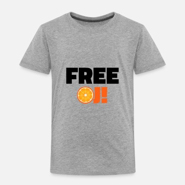 Simpsons Free O.J. Simpson - Toddler Premium T-Shirt