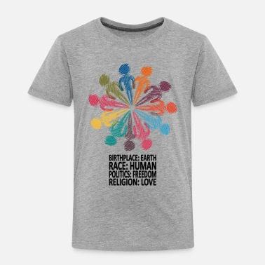 Freedom Against Racism T-Shirt - Toddler Premium T-Shirt