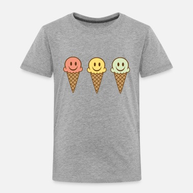 Cone ice cream - Toddler Premium T-Shirt