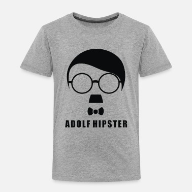 Hipster Adolf Hipster - Toddler Premium T-Shirt