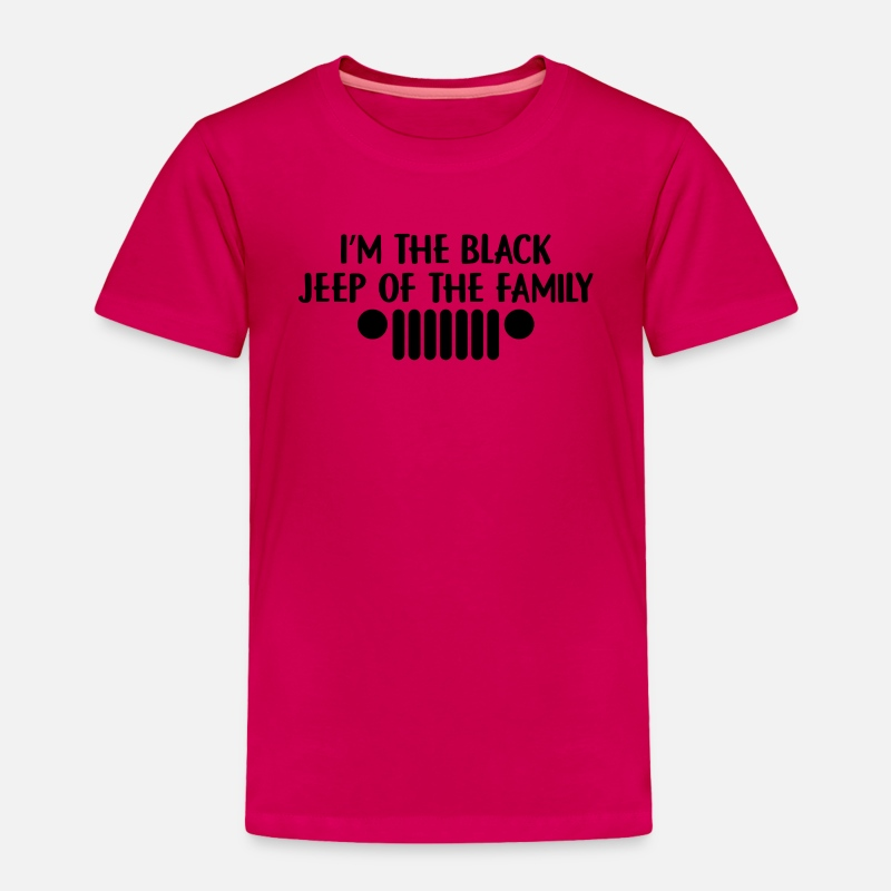 Im The Black Jeep of The Family Short Sleeves Tshirt Baby Girls