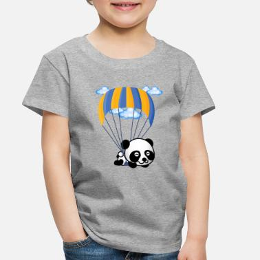 Panda Flying Panda - Toddler Premium T-Shirt
