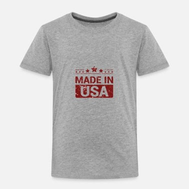 made in usa - Toddler Premium T-Shirt