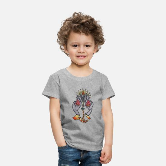 Unique Baby Clothing - Healing Hands - Toddler Premium T-Shirt heather gray