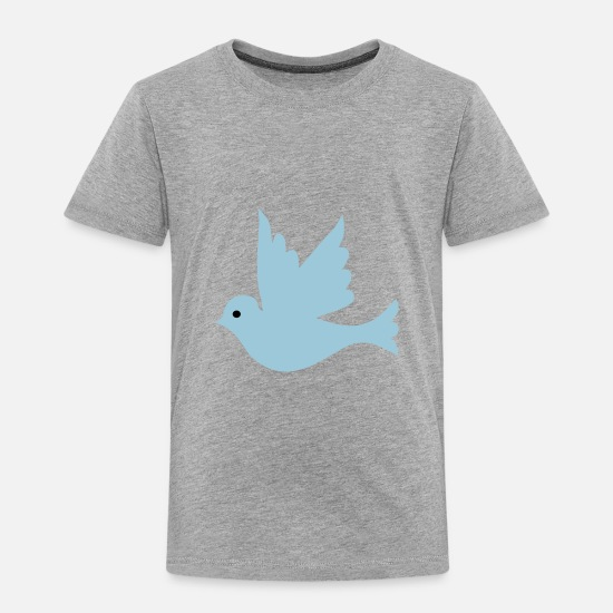 Pigeon Baby Clothing - dove of peace - Toddler Premium T-Shirt heather gray