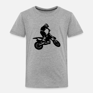 Dirt Bike Dirt Biking Motocross Supercross Design - Toddler Premium T-Shirt