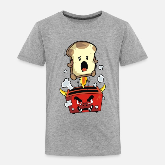 Movie Baby Clothing - The Toadster - Toddler Premium T-Shirt heather gray