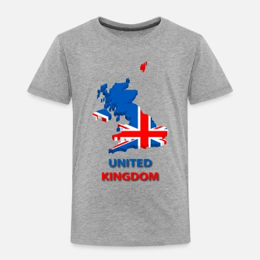 Uk uk - Toddler Premium T-Shirt