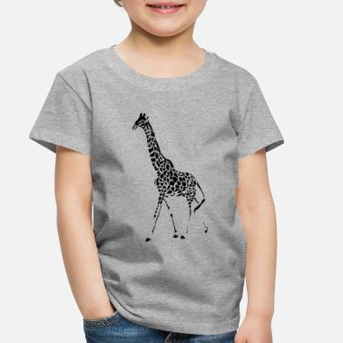 Giraffe Giraffes Endangered Wildlife Africa T shirts - Toddler Premium T-Shirt