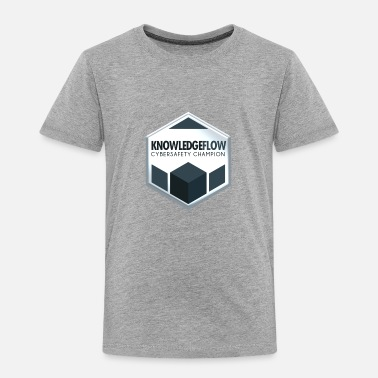 KnowledgeFlow Cybersafety Champion - Toddler Premium T-Shirt