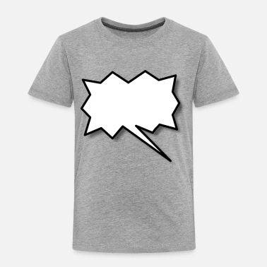Speech Balloon Speech Balloon - Toddler Premium T-Shirt