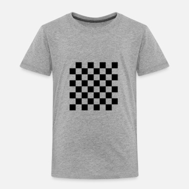 Checkerboard Chess, chessboard, check - Toddler Premium T-Shirt