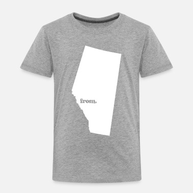 from Alberta - Toddler Premium T-Shirt