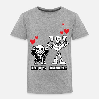 Sans Let's Dance Papyrus & Sans - Toddler Premium T-Shirt