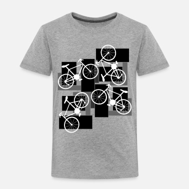 Rectangle Bicycle Rectangles - Toddler Premium T-Shirt