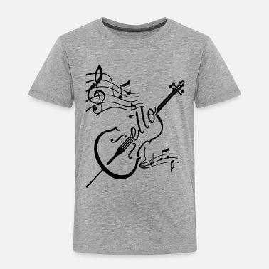 Cello Play Cello Shirt - Toddler Premium T-Shirt
