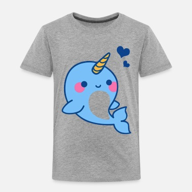 Narwhal Narwhal Shirt - Cute Narwhal T shirt - Toddler Premium T-Shirt