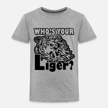 I Love Heart Ligers Kids T-Shirt