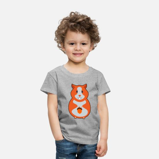 Hamster Baby Clothing - Cute Hamster Shirt - Toddler Premium T-Shirt heather gray