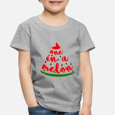Melon One In A Melon - Toddler Premium T-Shirt