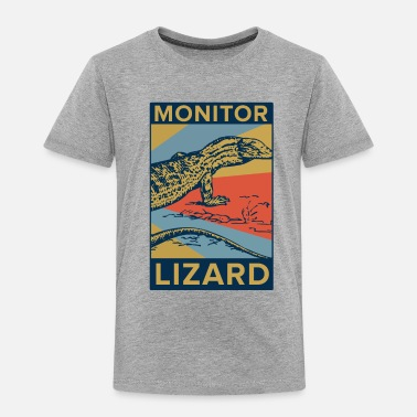 Monitoring Monitor Lizard - Toddler Premium T-Shirt