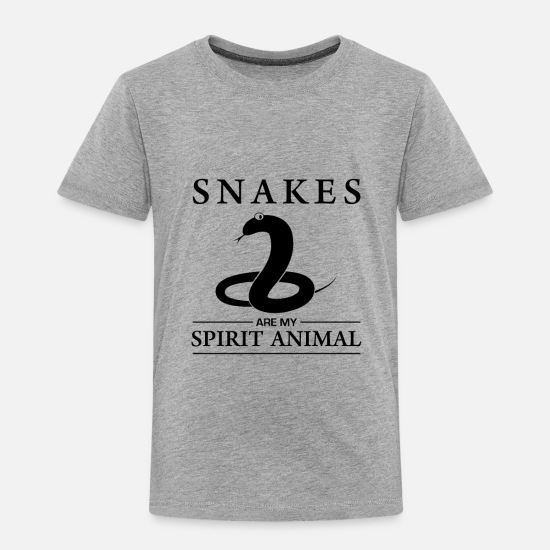 Lover Baby Clothing - Snakes Snake - Toddler Premium T-Shirt heather gray