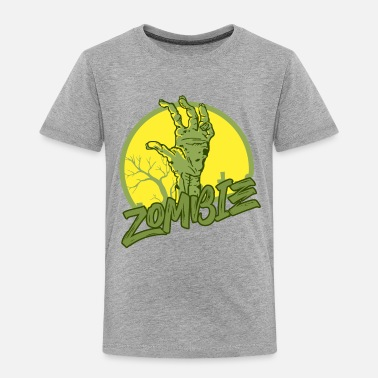 Scifi Zombie - Undead - Geek - Horror - Scifi - Dead - Toddler Premium T-Shirt