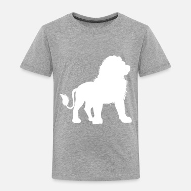 Son Lion Dad - Dad & Son Funny Matching - Toddler Premium T-Shirt