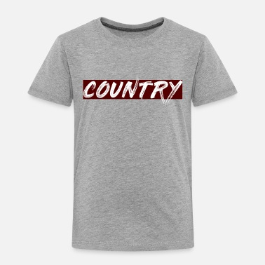 Country COUNTRY - Toddler Premium T-Shirt
