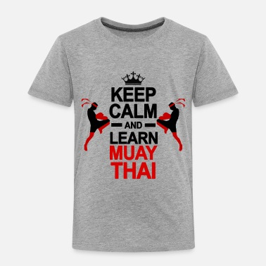 Muay Thai Muay Thai - Toddler Premium T-Shirt
