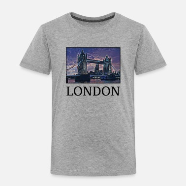 Uk London Holidays Vacation City Souvenir - Toddler Premium T-Shirt