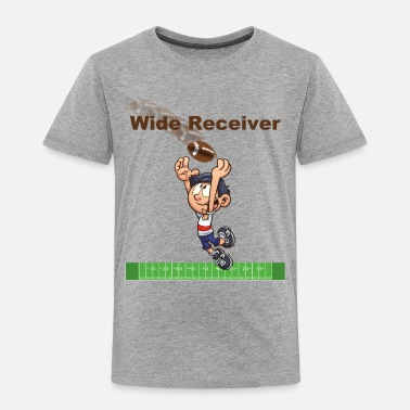 Wide Receiver Wide Receiver - Toddler Premium T-Shirt
