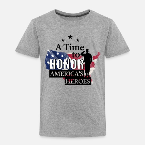 a56a18c68 Memorial Day Soldier Honor Heroe 2019 Shirt Toddler Premium T-Shirt ...
