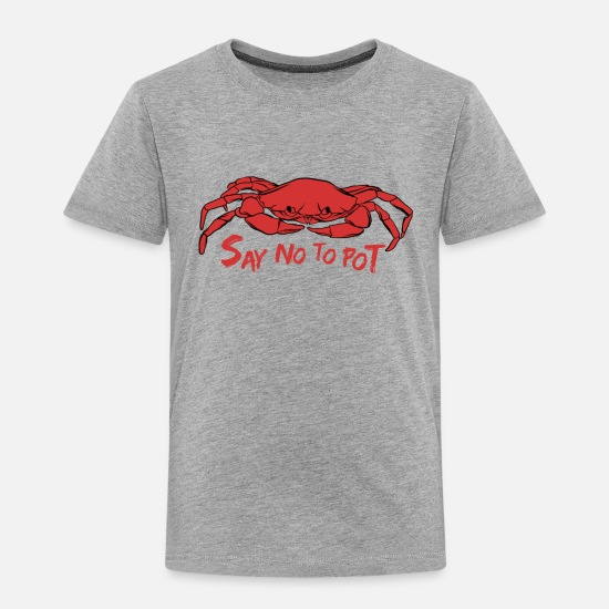Lobster Baby Clothing - Crab Crabbing Shirt Seafood Crawfish Boil Lobster - Toddler Premium T-Shirt heather gray