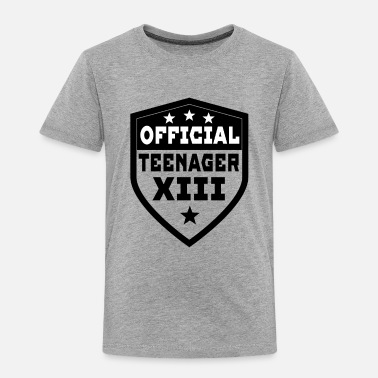 Teenager Official Teenager XII - Toddler Premium T-Shirt