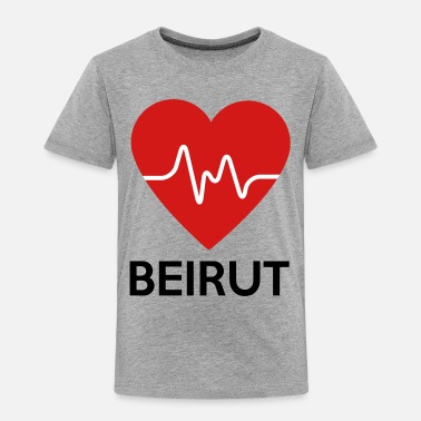 Beirut Heart Beirut - Toddler Premium T-Shirt