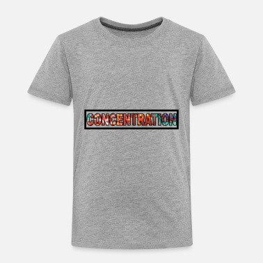 Concentric Concentration - Toddler Premium T-Shirt
