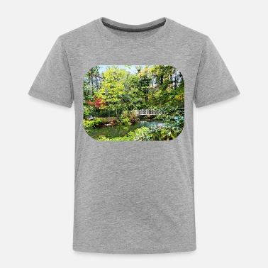 Span Decorative Bridge in Autumn Park - Toddler Premium T-Shirt