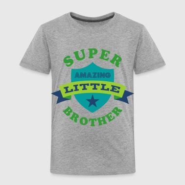 Super Amazing Little Brother - Toddler Premium T-Shirt
