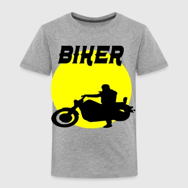 biker sunset - Toddler Premium T-Shirt