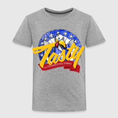 Tasty the Turkey - Toddler Premium T-Shirt