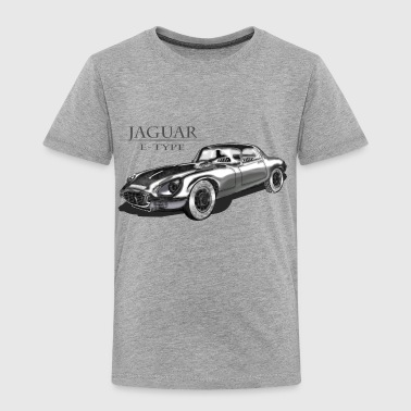Jaguar E Type - Toddler Premium T-Shirt