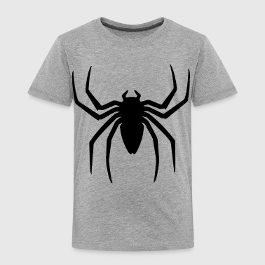 Spider Scary Halloween Gift Present - Toddler Premium T-Shirt