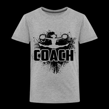 Cheerleader Coach Shirt - Cheerleader Coach Tshirt - Toddler Premium T-Shirt