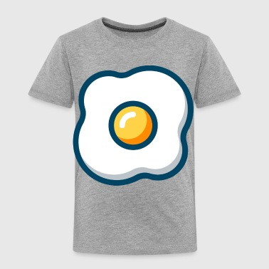fried eggs spiegelei breakfast fruehstueck - Toddler Premium T-Shirt