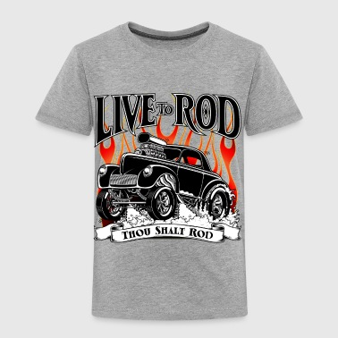 41-Willys-Gasser-Black - Toddler Premium T-Shirt