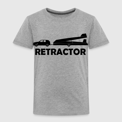 retractor glider pilot - Toddler Premium T-Shirt